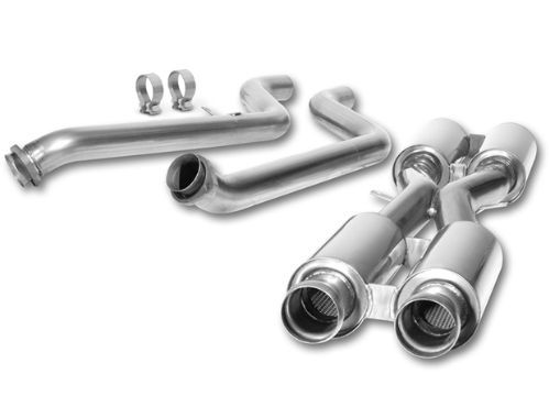 E90/E92 M3 Sedan/Coupe Borla Mid-Pipes - 2008-2012 M3 X-Pipe Part # 60506