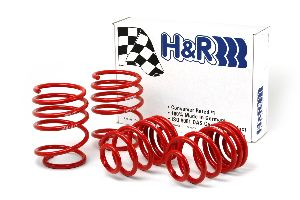 "08-11 128i, 128i Cabrio, 135i, 135i Cabrio - H&R Sport Spring Kit Lowers vehicle 1.8"" in front and 1.2 in rear."