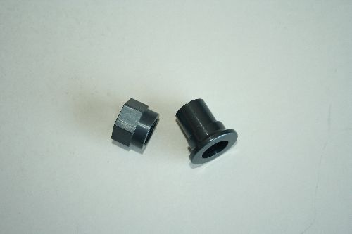 Aluminum Nut and Sleeve for camber Plate - Aluminum Nut and Sleeve for E36 camber Plate. (one nut and one sleeve)