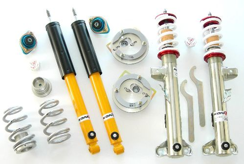 TCKR E36 318ti Double Adjustable Coilover Kit - TCKR E36 318ti Double Adjustable Coilover Kit