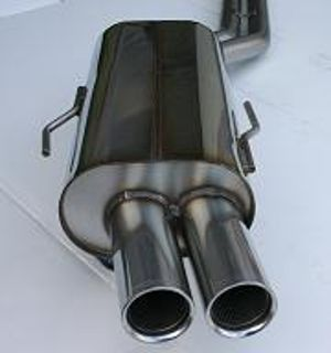 92-99 E36 325, 328, M3 Stromung Exhaust - Stainless Cat-back exhaust system for all E36(including M3)