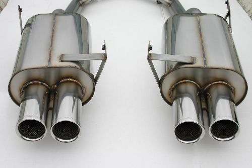 Z3 M Coupe Stromung Exhaust - Stainless Cat-back exhaust system